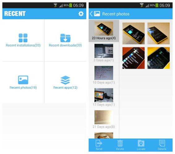 Android App Review   Recent (file manager assistant)
