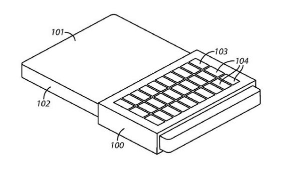 Blackberry patent for overlay keyboard appears
