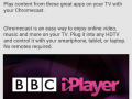 BBC iPlayer coming to the Google Chromecast very soon