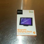 Xperia Z2 Tablet dock unboxing