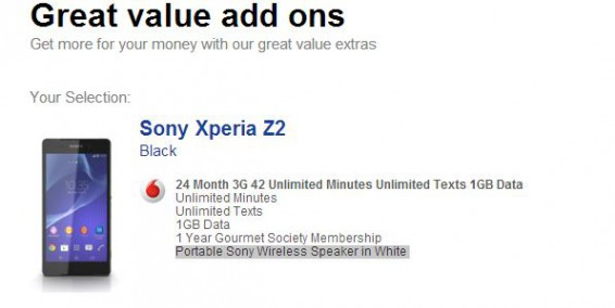 Sony Xperia Z2   The deals