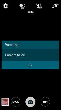 camera failed