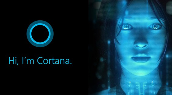 Cortana to speak with a British accent