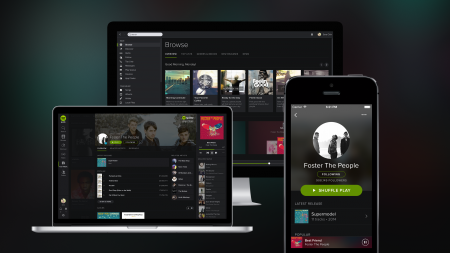 Spotify turns to The Dark Side... May the new look be with you...