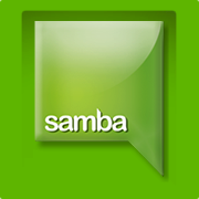 Samba recommending alternatives to their own service.