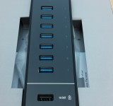 HooToo HT UH010 USB 3 7 Port 3.0 USB HUB and Charger   Review