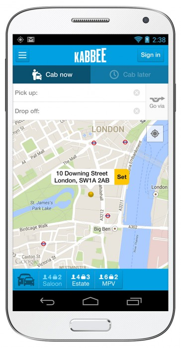 In London? Tube staff on strike? Try the updated Kabbee app