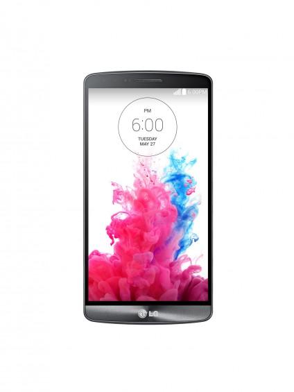 LG G3 Metallic Black Front 1