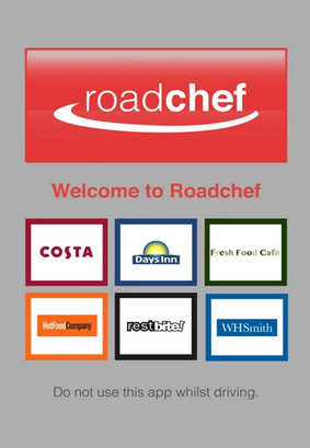 Roadchef have released an app. Stop press!