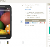 Moto E. £10 cheaper than you thought