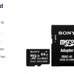 Cheap microSD card for the weekend