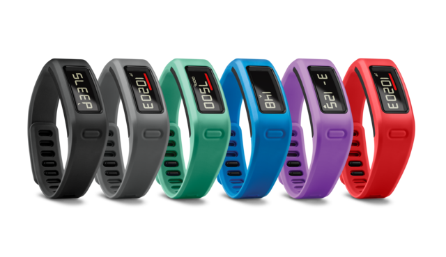 Garmin vivofit goes red