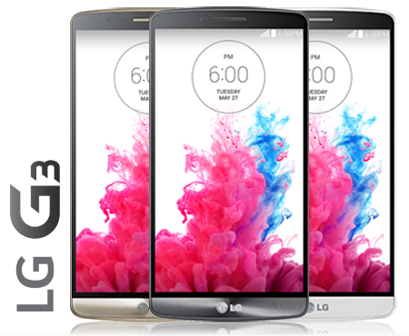 LG announce the G3   Lasers and all