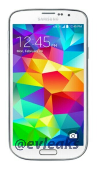 Another shot of the new smaller Galaxy S5