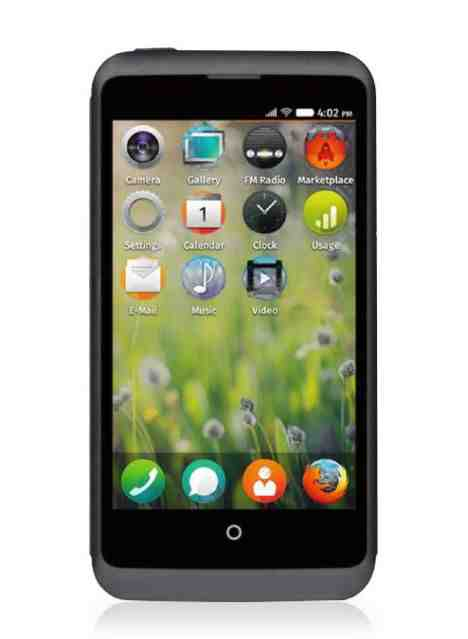 ZTE Open C available to buy. Powered by Firefox OS and fairly cheap too.