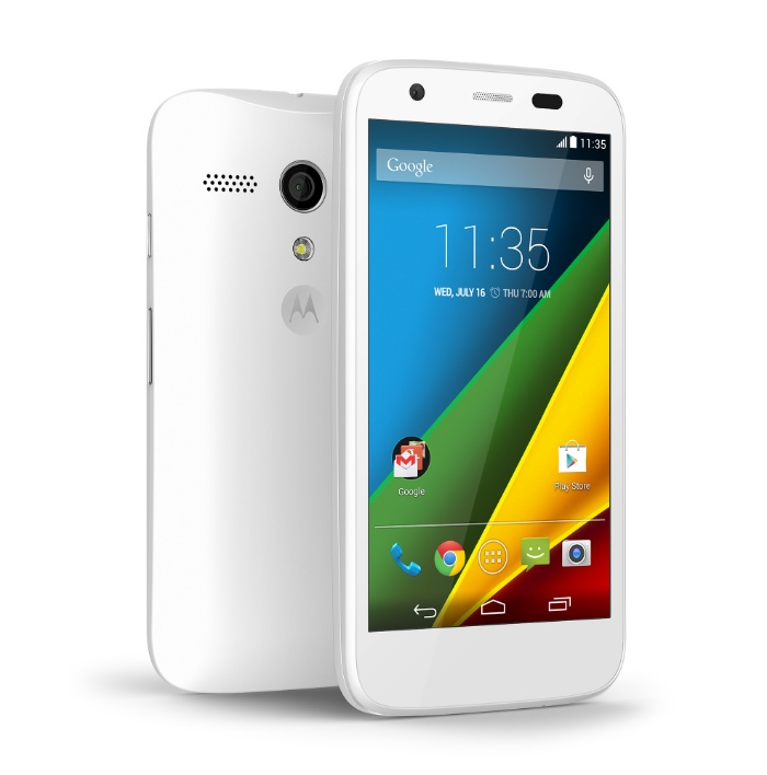 Motorola also announce a 4G version of the Moto G