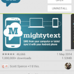 Want to text from your phone without touching it? Try MightyText