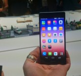 Huawei Ascend P7 hands on.