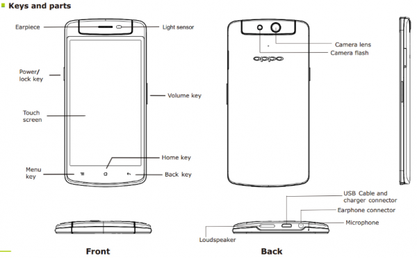 The Oppo N1 Mini appears at the FCC