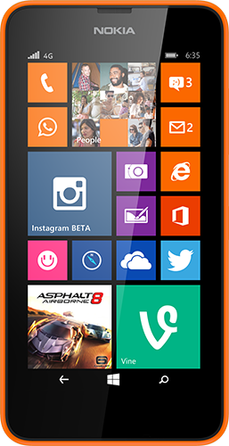 Lumia 635 Available in the UK from 3rd July.