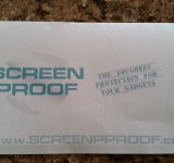 Screenproof screen protector for Z2 review