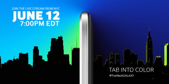 Galaxy Tab S coming 12th June, S5 mini as well?