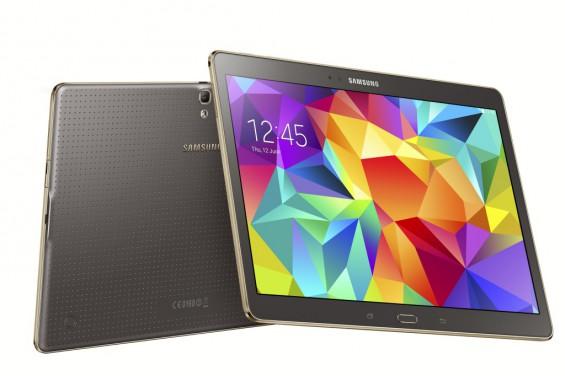 Galaxy Tab S 10.5 inch Titanium Bronze 6
