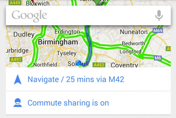Google Now Journey