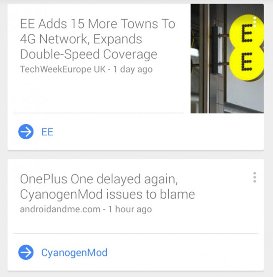 Google Now News 2