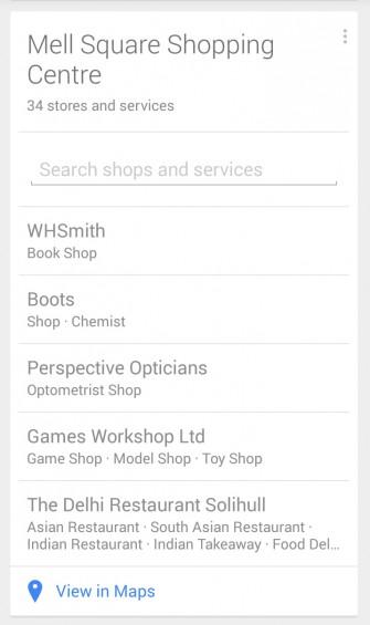 Google Now Shopping