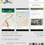 Google Maps – More than a billion installs