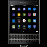 Blackberry get their Passport ready