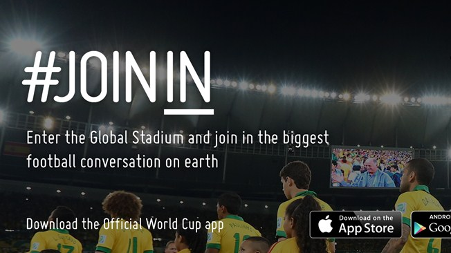 Stay updated with the World Cup on your mobile