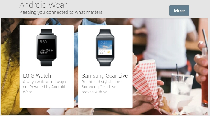 You can now buy those fancy Android Wear watches