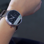 Motorola post brief hands on video of the Moto 360