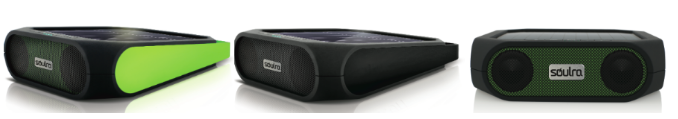 Rugged rukus   Solar powered Bluetooth music