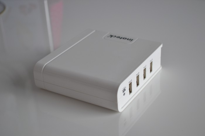 Inateck 4 port USB Desktop Charger   Review