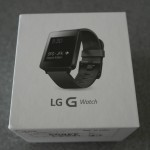 Up-close with the LG G Watch