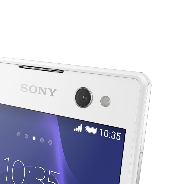 Xperia C3 White Design