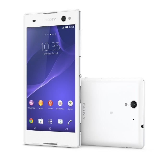 Xperia C3 White Group