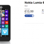 Phones 4u start selling the Lumia 635. Available today