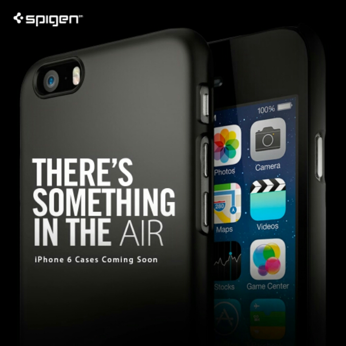 Spigen pretty much announce the 4.7 and 5.5 iPhone 6