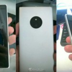 Lumia 830 images leaked.