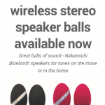 Nakamichi Launch their NBS 10 Spherical Portable Speakers in the UK