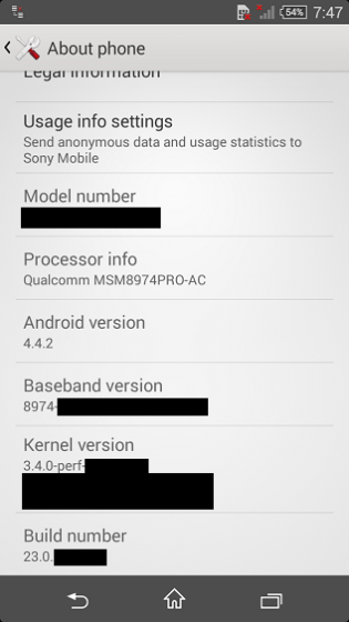 Details about the Sony Xperia Z3 and Z3 Compact are starting to appear
