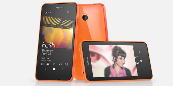 Lumia 635 Orange Wide