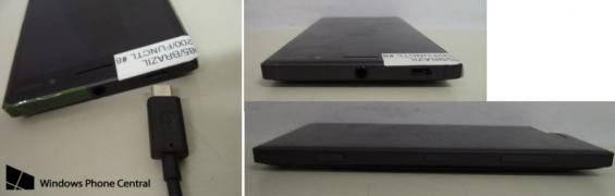 Lumia 830 Anatel sides USB
