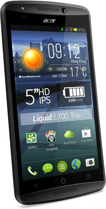 Acer Liquid E700 only £160 unlocked