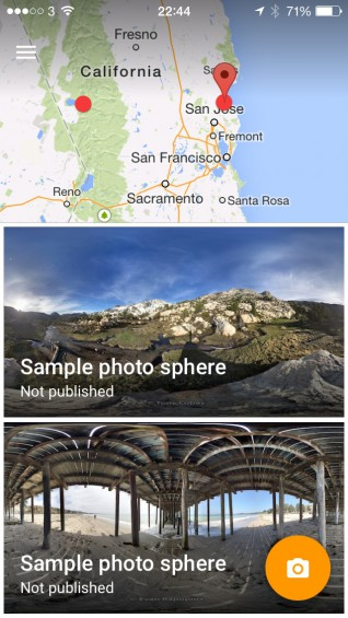 Google's Photo Sphere App is now available on iOS