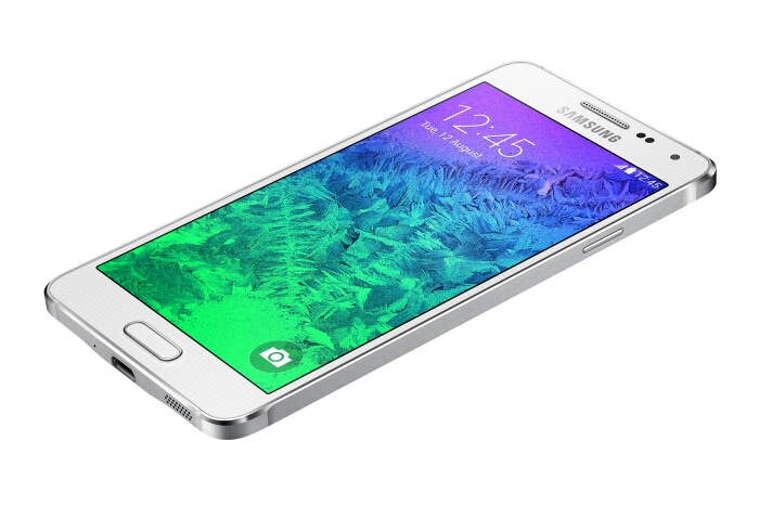 Samsung announce the premium Galaxy Alpha